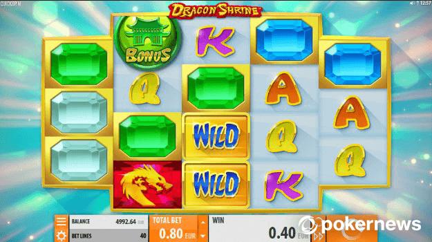 Dragon Shrine Asian Gambling Game