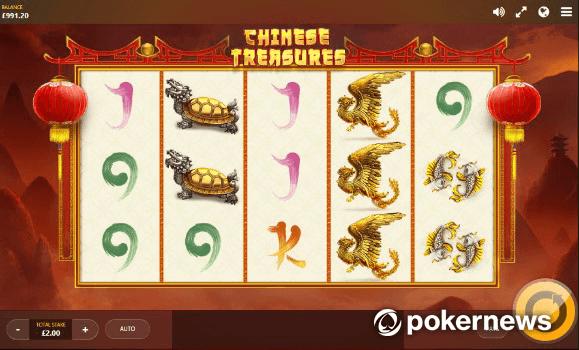 Chinese Treasures Oriental Gambling Game