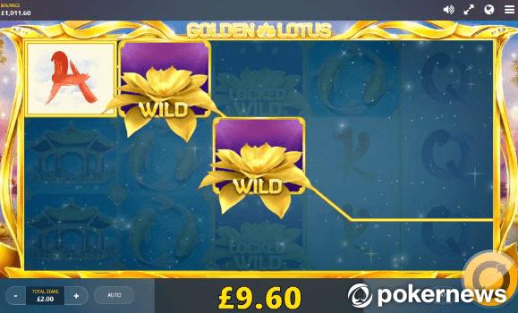 Golden Lotus Asian Gambling Game