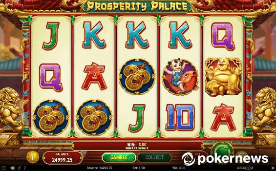 Oriental Gambling Game Prosperity Palace