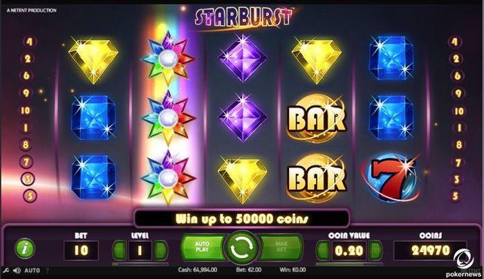 Starburst Slot Machine Game Online