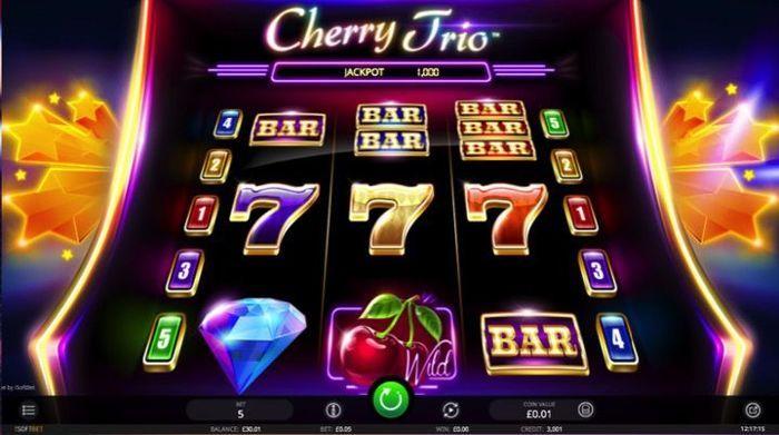 Cherry Trio cash games online free