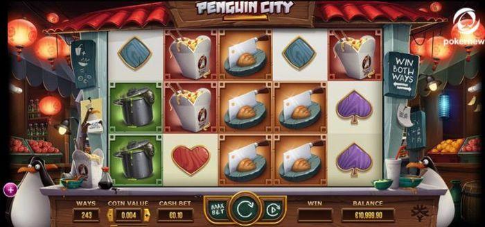 Penguin City New Slot