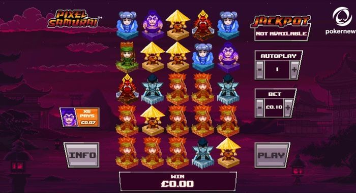 Pixel Samurai new slot machine games