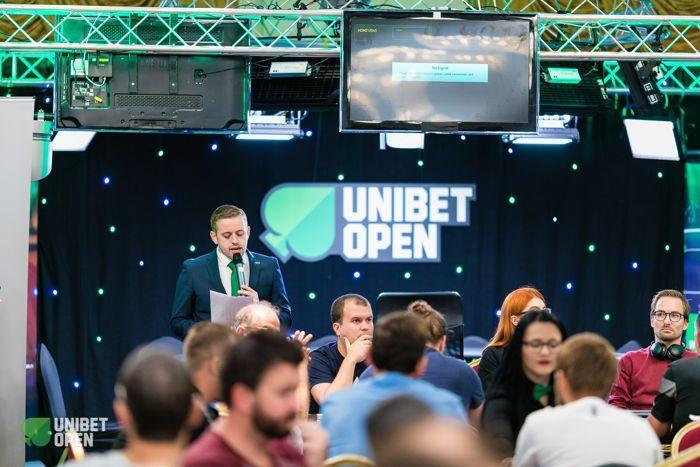 Tournament director Kenny Hallaert at the Unibet Open Bucharest