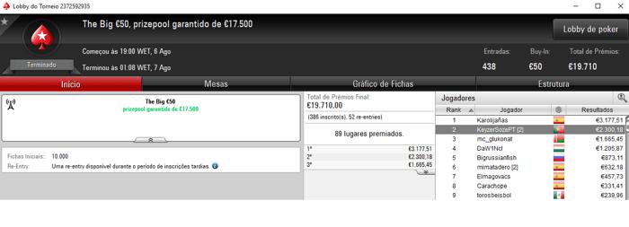 Poker Online: ninesoup Vence Super Special €100 e Recebe €14,040 & Mais 103