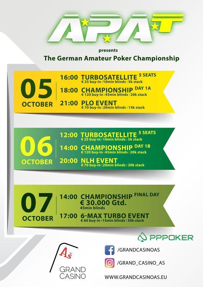 Werde Deutschlands erster Amateur Poker Champion! 101