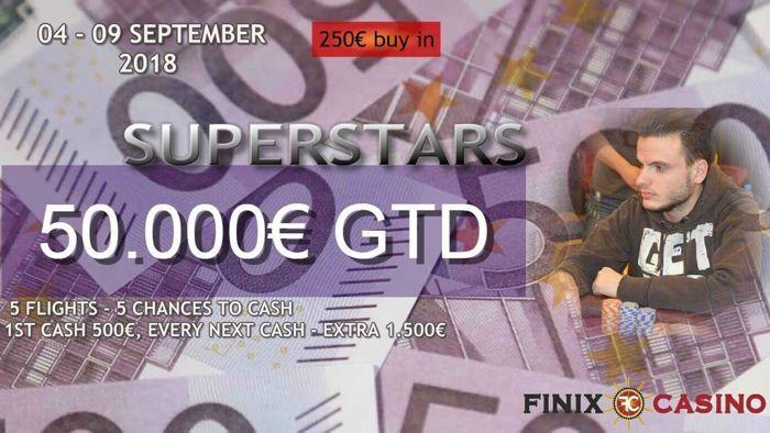 Σήμερα στις 19:00 η Day 1A του Monsterstack Madness #9 στο Finix Casino 101