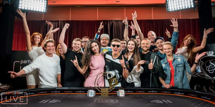 Anatoly Filatov Wins the 2017 partypoker LIVE MILLIONS Россия Main Event