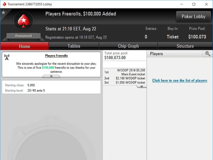 PokerStars ofera 650.000$ in freerolluri jucatorilor afectati de atacurile DDoS 101
