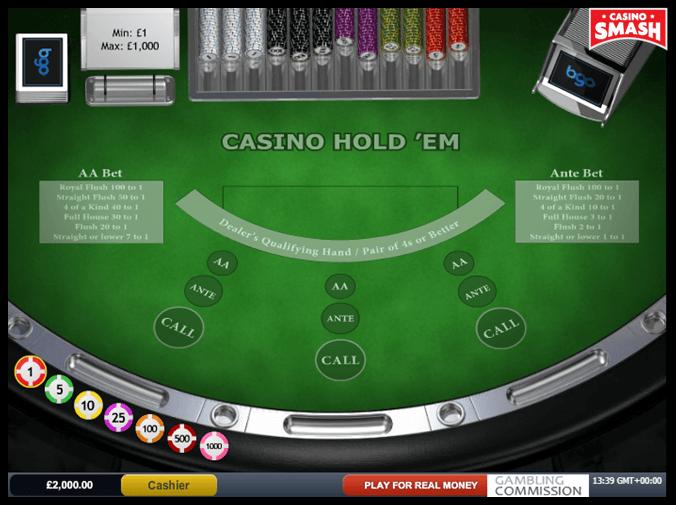 Casino holdem free play