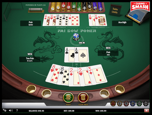 Play Pai Gow Poker Online For Free