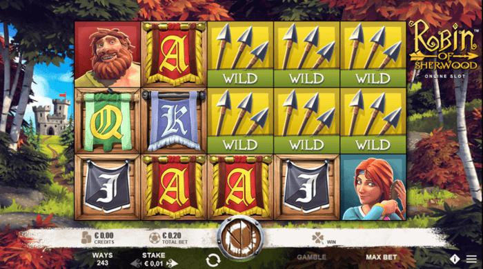 Bitcoin game Robin of Sherwood