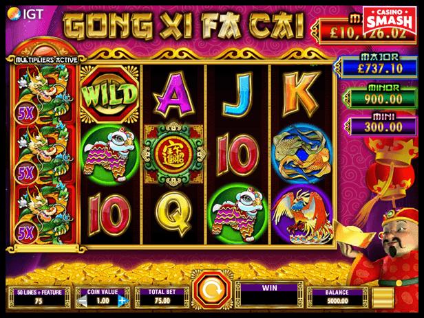 Gong Xi Fa Cai best IGT slots