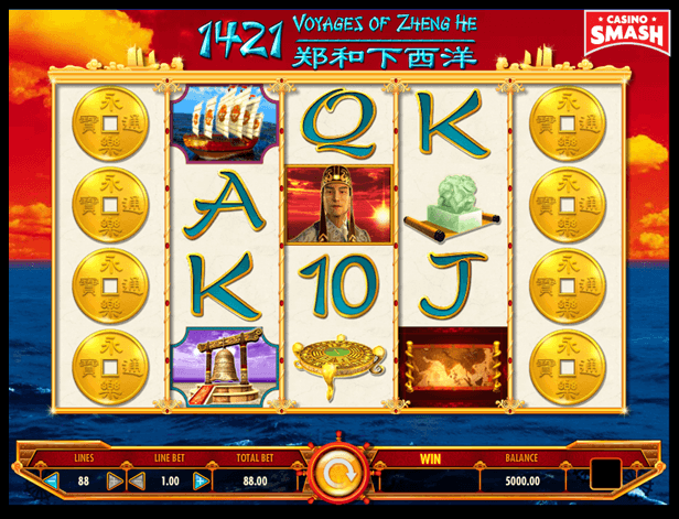 1421 Voyages of Zheng He best IGT slots