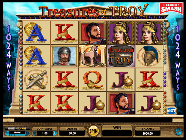 Treasure of Troy best IGT slots