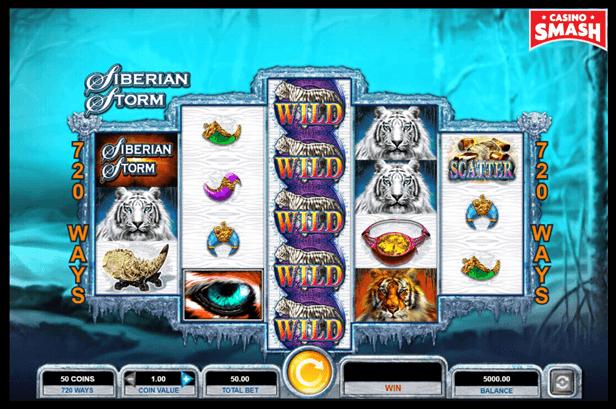 Siberian Storm best IGT slots