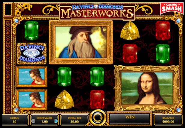 Da Vinci Diamonds best IGT slots