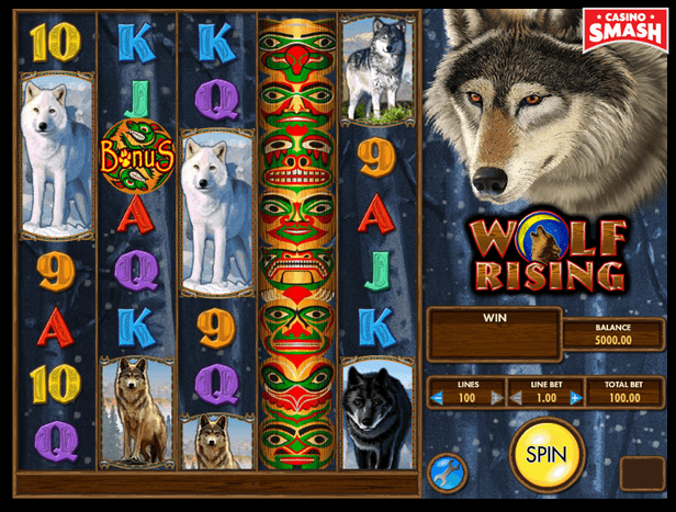 Wolf Rising best IGT slots