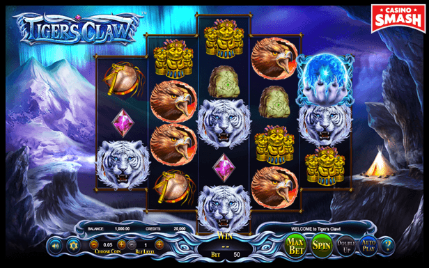 Tiger's Claw 3D Slots