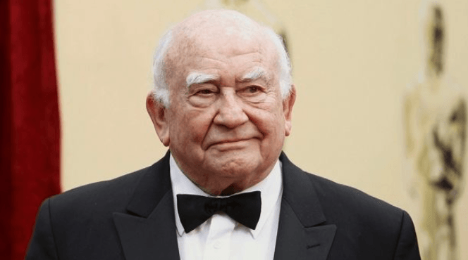 Actor and poker player Ed Asner