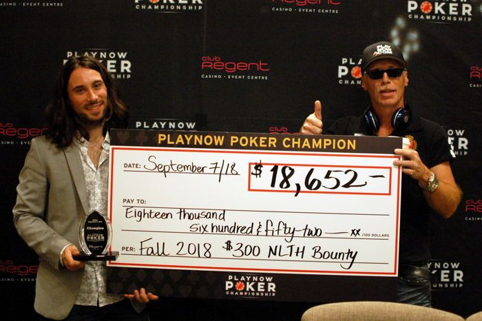 Dylan and Daryl Ellis after the $300 Bounty