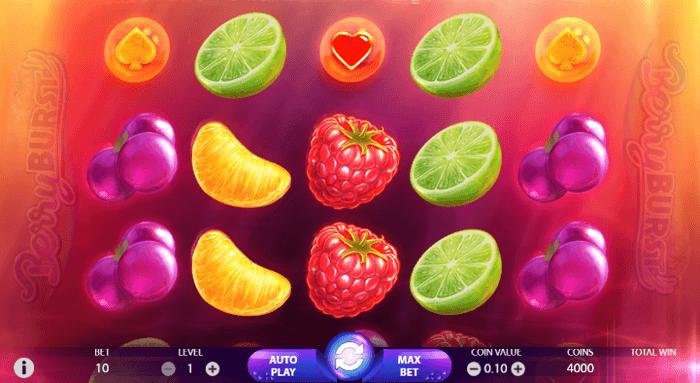 berryburst Slot machine online