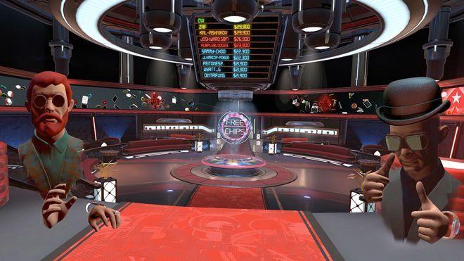 Lobby do PokerStars VR