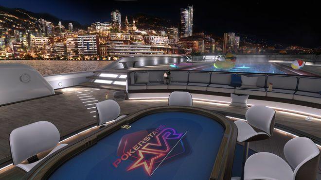 Ambiente Virtual do PokerStars VR