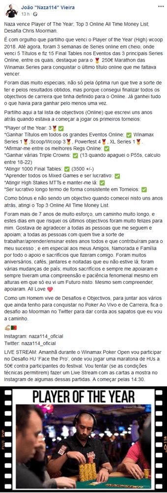 """Game On! João """"Naza114"""" Vieira Desafia Chris Moorman 101"""