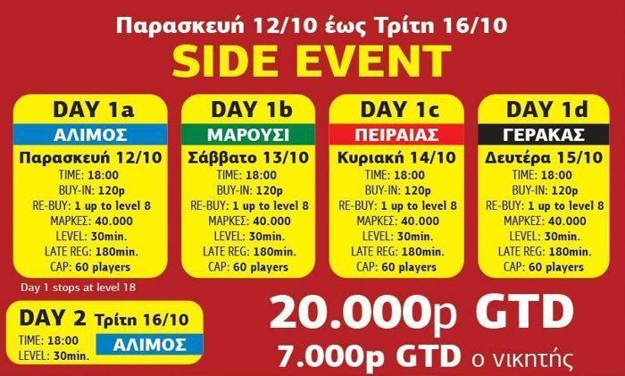 Μεγάλο φεστιβάλ πόκερ του ΟΦΙΤΕΧ 1 Οκτωβρίου με 3... 102
