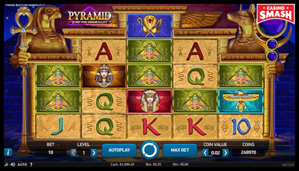 Pyramid: Quest for Immortality Best Egyps Slots