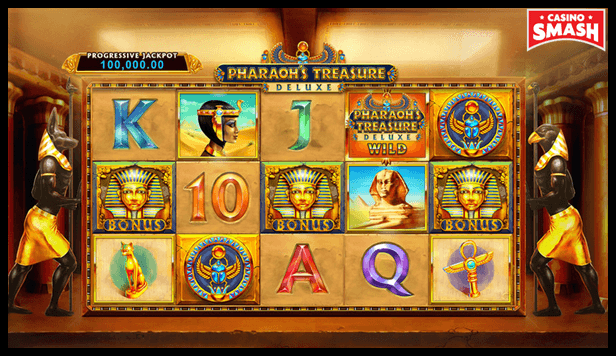 Pharaohs Treasure Deluxe Best Egyps Slots