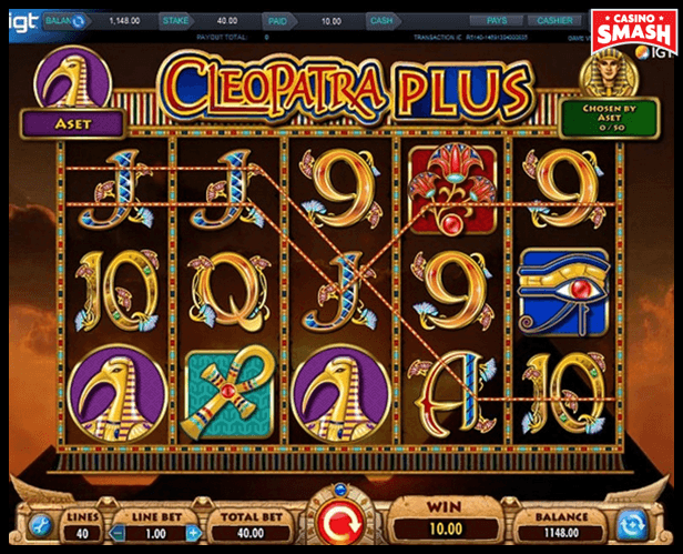 Cleopatra Plus Best Egyps Slots