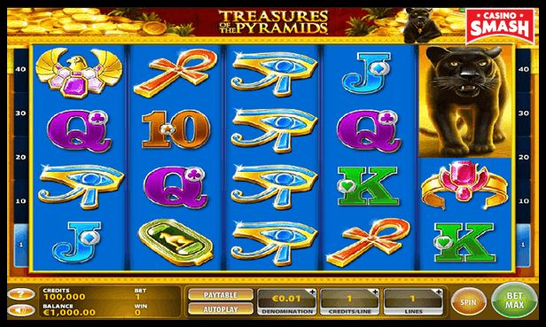 Treasures of the Pyramids Best Egyps Slots