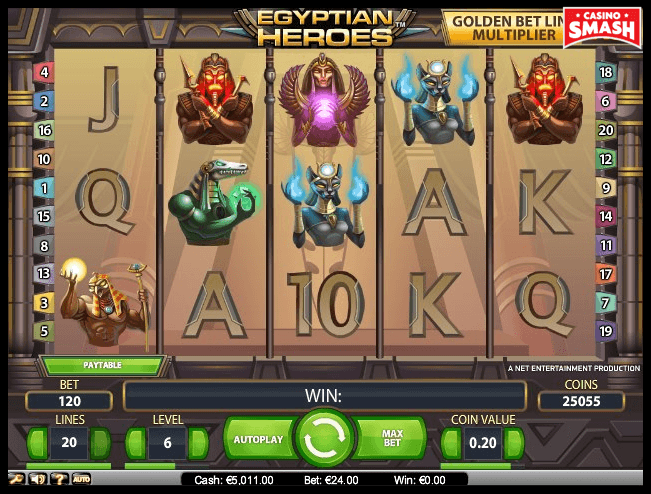 Egyptian Heroes Best Egyps Slots