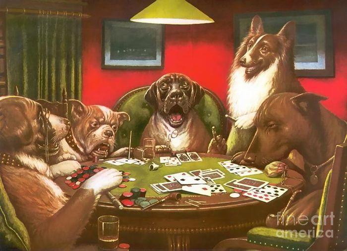 Povestea din spatele faimoaselor tablouri cu caini jucand poker 104