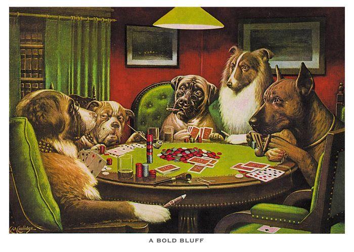 Povestea din spatele faimoaselor tablouri cu caini jucand poker 103