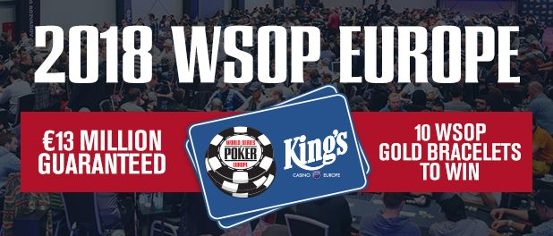 The 2018 WSOPE runs October 9 - November 2