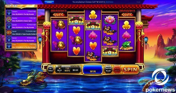 Dragons River Slot Chumba Casino