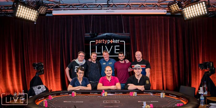 partypoker LIVE MILLIONS UK Main Event Final Table