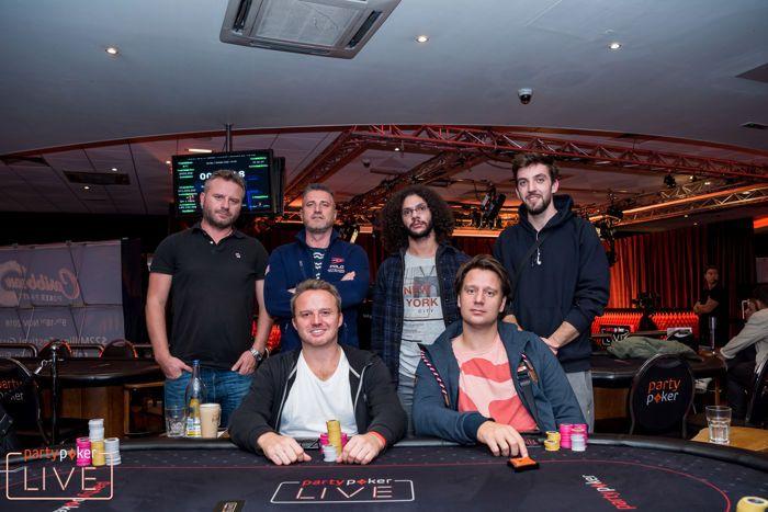 partypoker LIVE MILLIONS UK £550 Finale Final Table