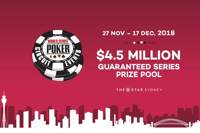 The Star Poker Room, WSOP Circuit Sydney