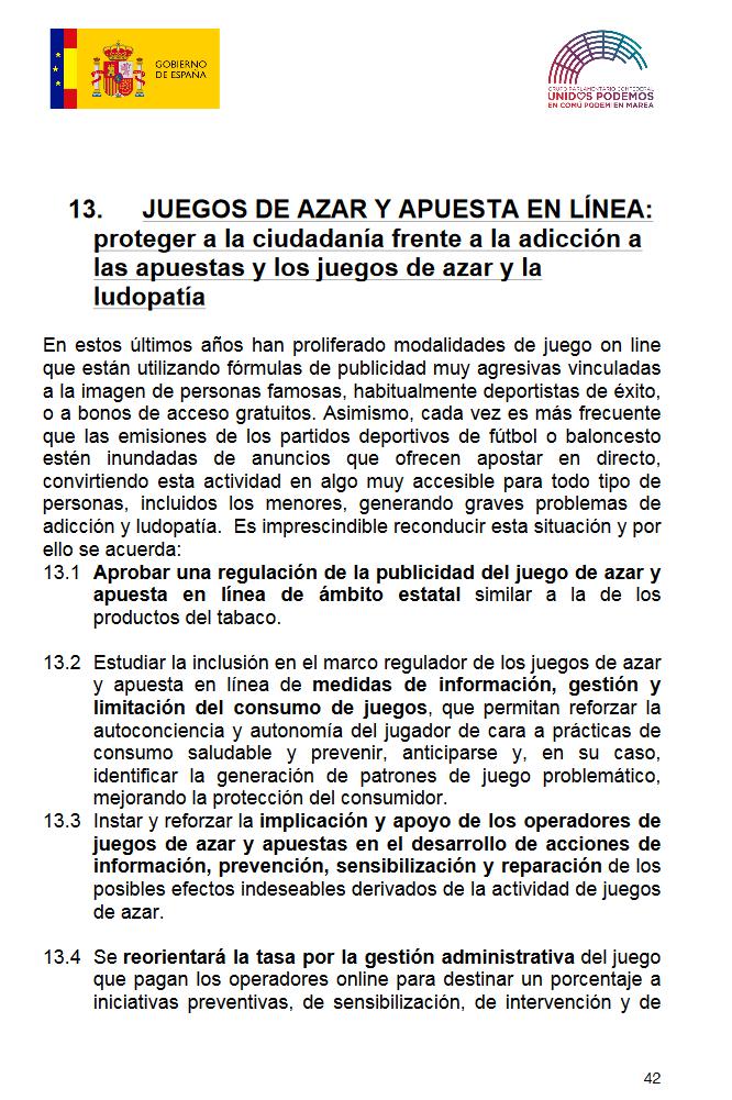 Espanha vai Limitar Publicidade ao Jogo e Apostas Online 101