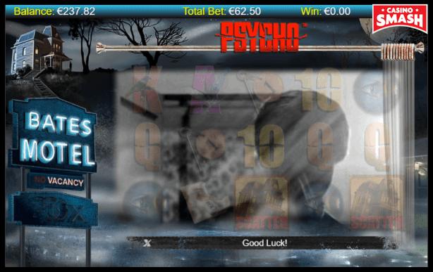 Psycho Slot machine video clip