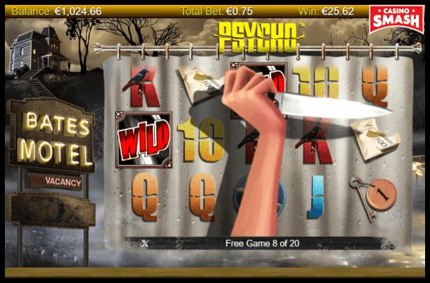 Psycho Slot machine: Psycho Wilds