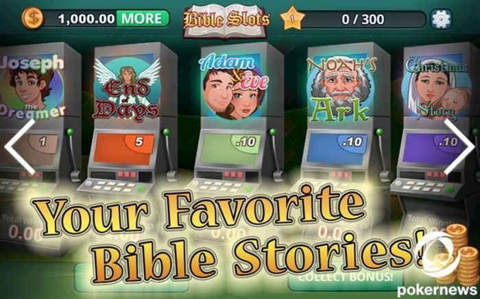 Free Bible Slots for Android
