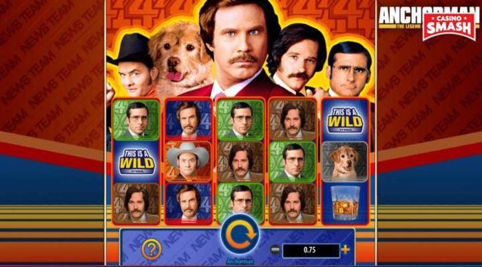 Anchorman: The Legend of Ron Burgundy Slot
