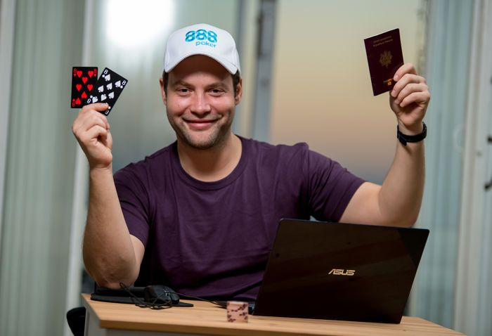 Otto Richard hopes for next big score on Poker After Dark 888poker Week appearance.