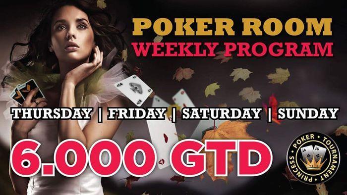 Το πρόγραμμα της εβδομάδας στο Princess με cash games και 4... 101